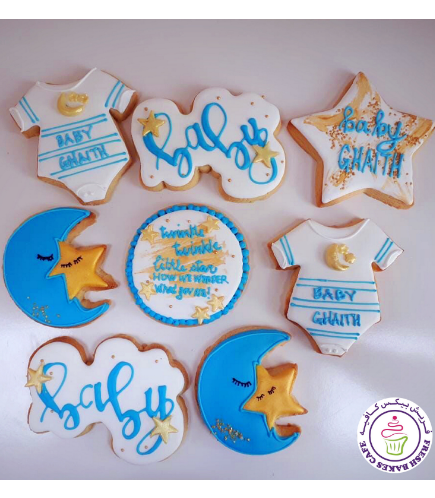 Cookies - Baby Shower - Boy 04
