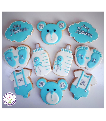 Cookies - Baby Shower - Boy 03
