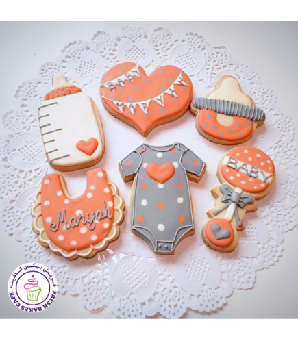 Cookies - Baby Shower - Girl 03