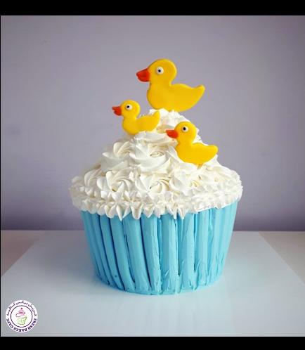 Duck Themed Mega Cupcake