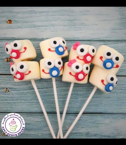 Babies Themed Marshmallow Pops - Boys & Girls