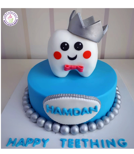 Baby's First Tooth Themed Cake 05b