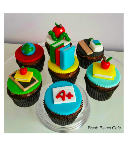 Cupcakes - Back to School 02
