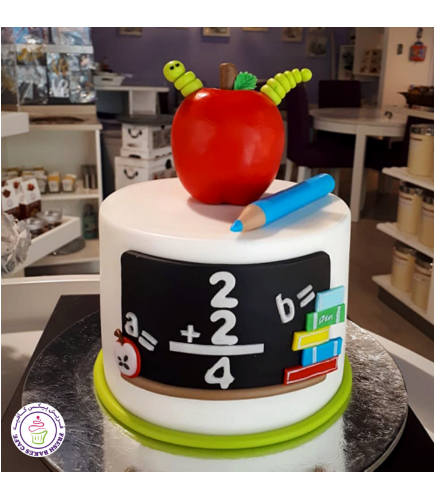Back to School Themed Cake 5