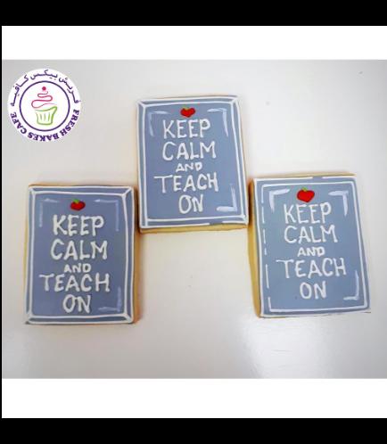 Cookies - Back to School - Keep Calm & Teach On 02