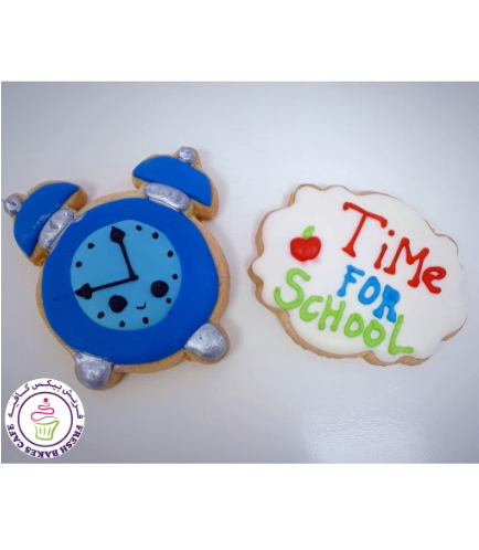 Cookies - Back to School - Time for School