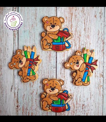 Cookies - Back to School - Bears