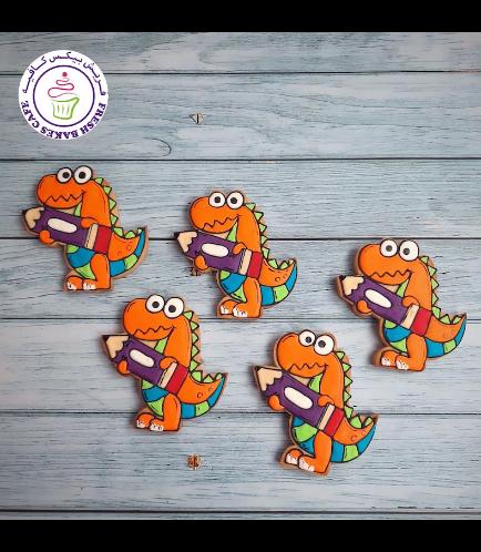Cookies - Back to School - Dinosaur