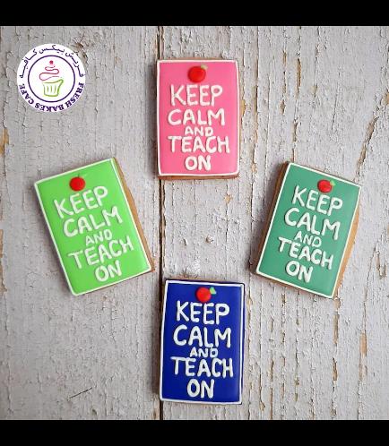 Cookies - Back to School - Keep Calm & Teach On 01