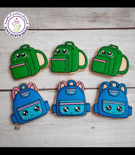 Cookies - Back to School - School Bags