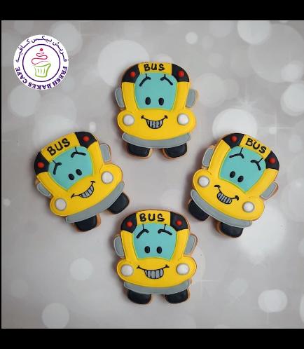 Cookies - Back to School - School Bus 01
