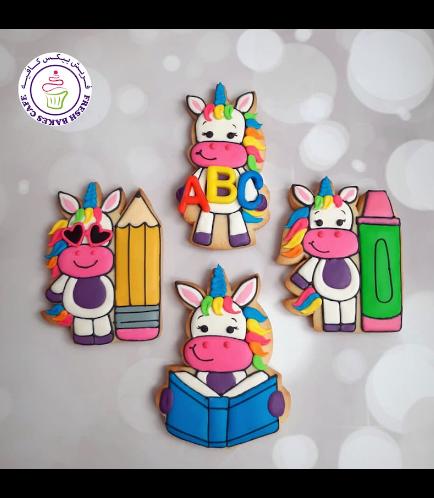 Cookies - Back to School - Unicorn 02
