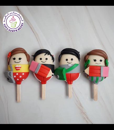 Back to School Themed Popsicakes - Kids 01