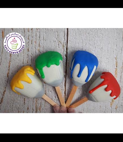 Popsicakes - Paintbrushes