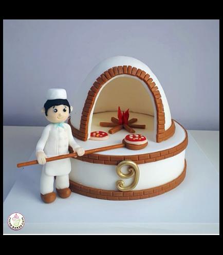 Baker Themed Cake 01