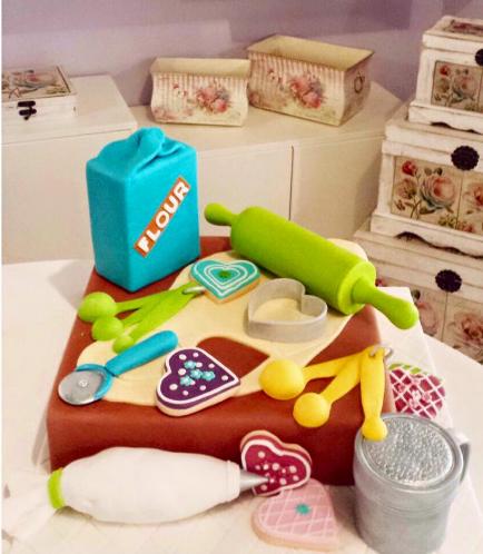 Baking Themed Cake 01