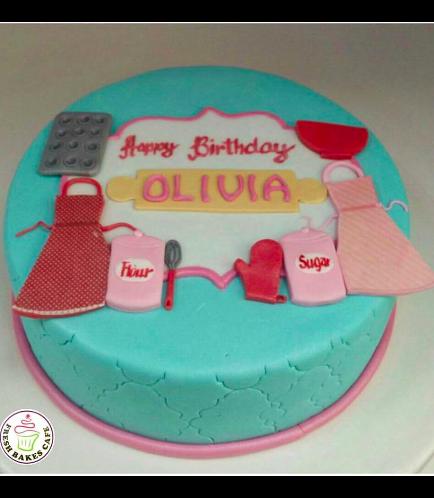 Baking Themed Cake 02