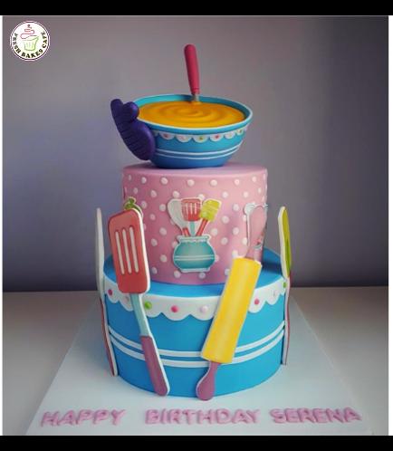 Baking Themed Cake 06