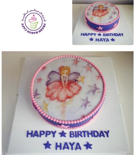 Ballerina Themed Cake 11