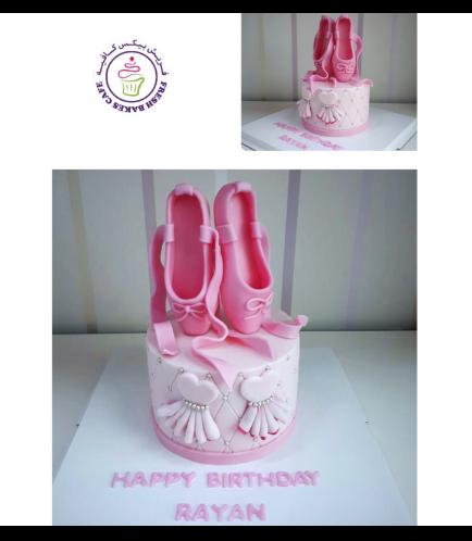 Ballerina Themed Cake 12b