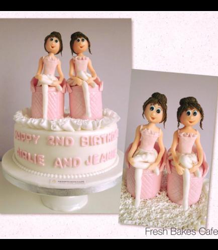 Ballerina Themed Cake 03