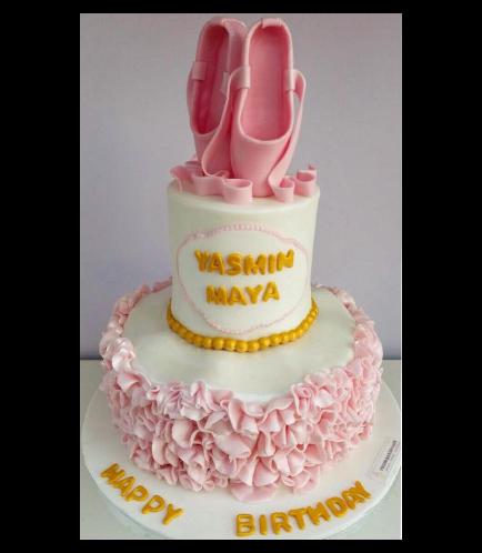 Ballerina Themed Cake 04