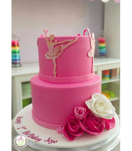 Ballerina Themed Cake 06