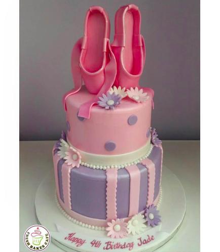 Ballerina Themed Cake 01