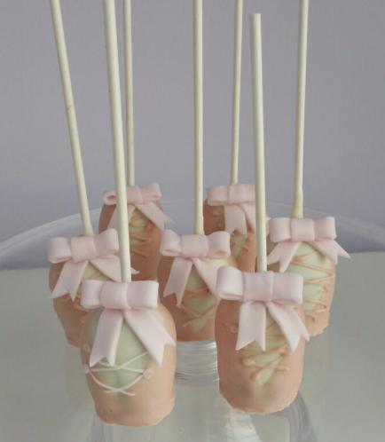 Cake Pops - Ballet Shoes 01
