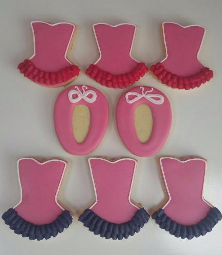 Ballerina Themed Cookies 02