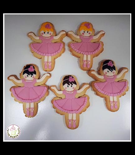 Ballerina Themed Cookies 03