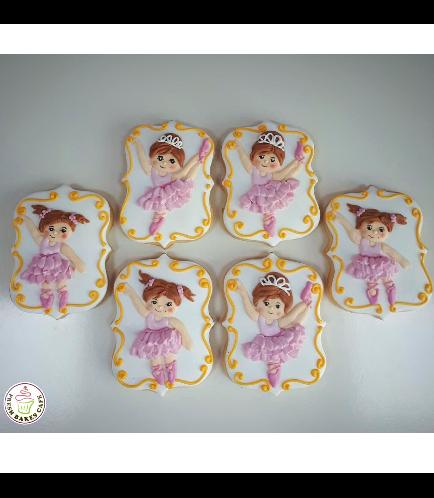 Ballerina Themed Cookies 04