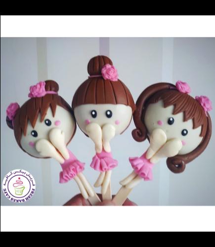 Ballerina Themed Popsicakes 01