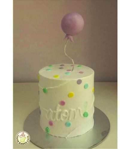 Balloon Themed Cake 2