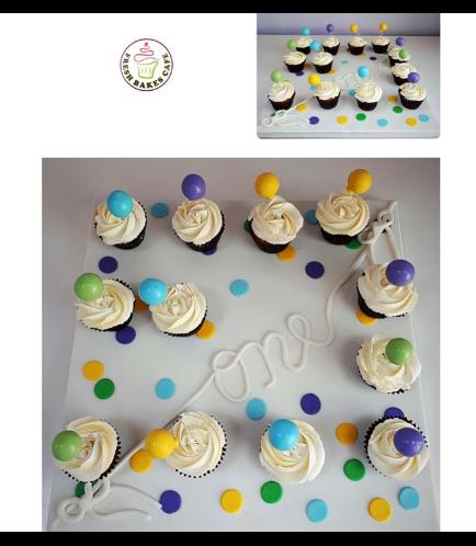 Cupcakes - Balloon