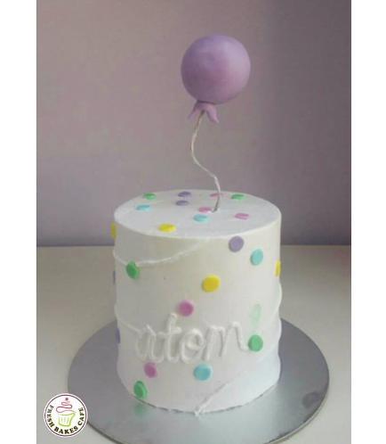 Balloon Themed Cake 03