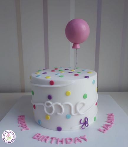 Balloon Themed Cake 02b