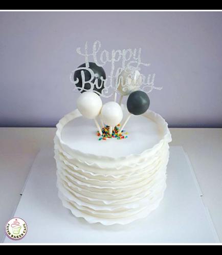 Balloon Themed Cake 04