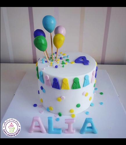 Balloon Themed Cake 06