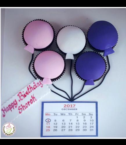 Balloon Themed Cupcakes 03