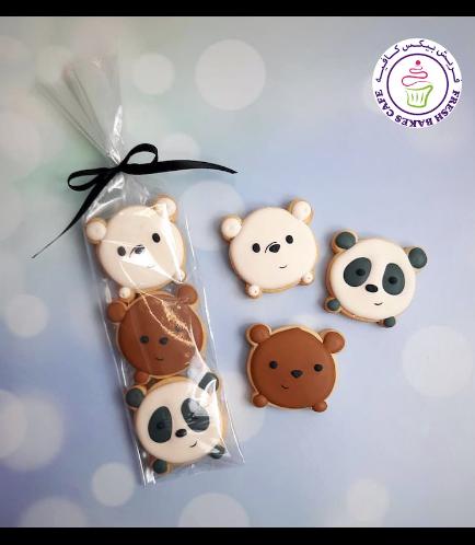Bare Bears Themed Cookies - Minis