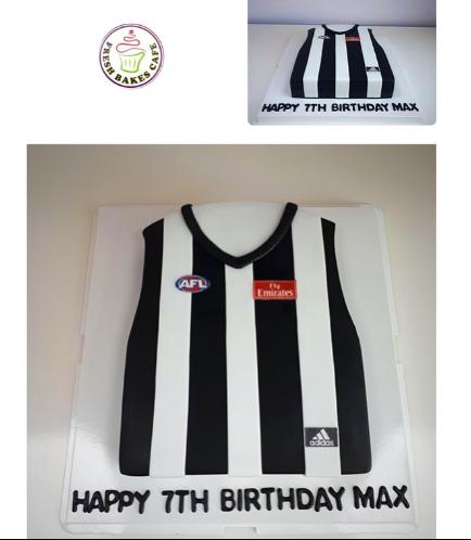 Basketball Jersey Cake 01