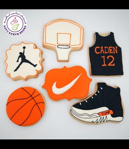 Basketball Themed Cookies 03