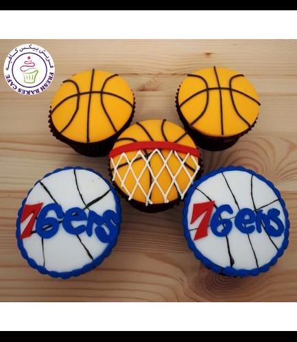 Basketball Themed Cupcakes 03