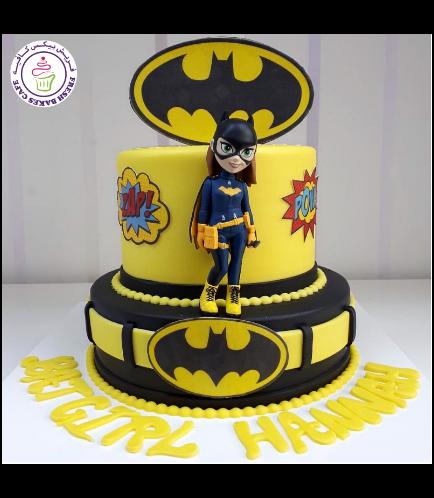 Batgirl Themed Cake 03