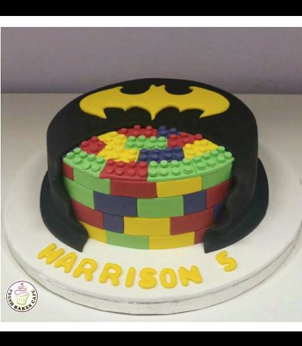 Batman-Lego Themed Cake