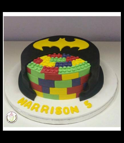 Batman Themed Cake - LEGO 01