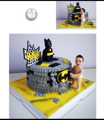 Batman Themed Cake - LEGO - 3D Character 02