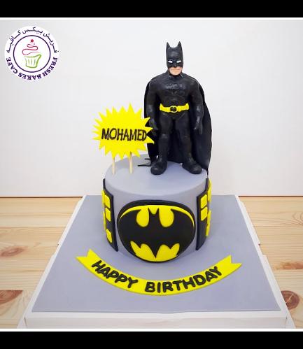 Batman Themed Cake - 3D Character 01