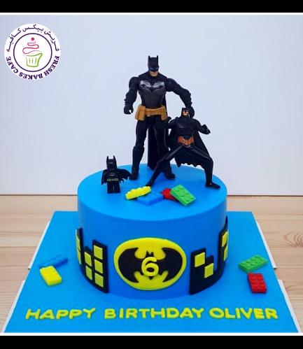 Batman Themed Cake - Toys